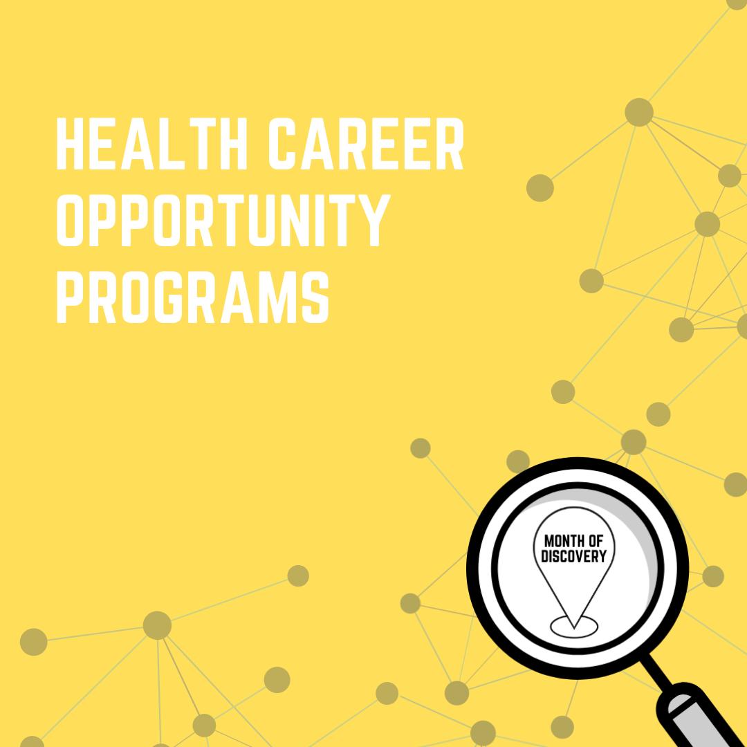 Health Career Opportunity Programs